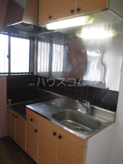 ラプラス平松C 101号室のキッチン