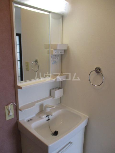 ラプラス平松C 101号室の洗面所