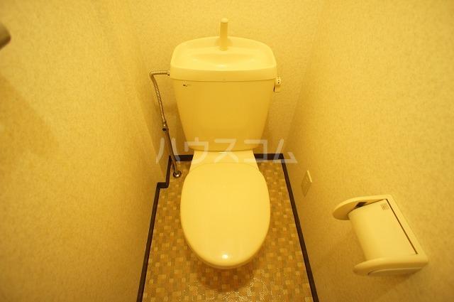 シャルマンA 02010号室のトイレ