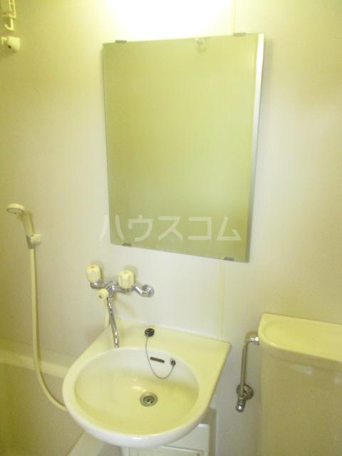 ブルースカイ峰 103号室の洗面所