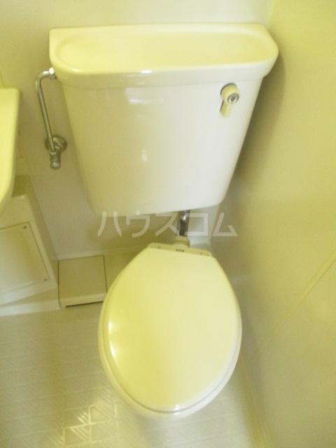ブルースカイ峰 103号室のトイレ