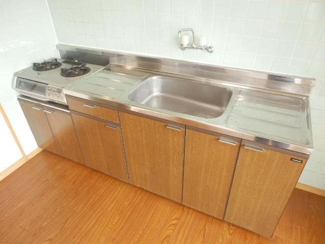 サングリートハイツ 805号室のキッチン