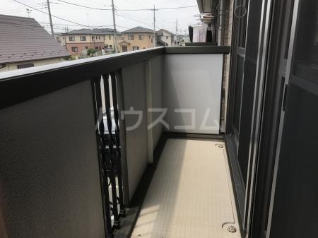 グランベルク A(栃木市) 202号室のバルコニー