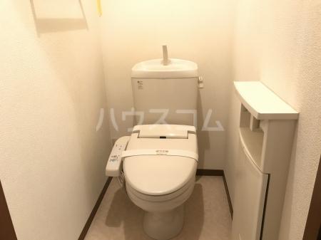 グランベルク A(栃木市) 202号室のトイレ