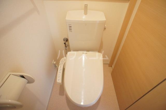 アスカ F 02020号室のトイレ