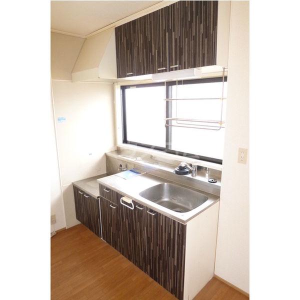 プラド光城B 202号室のキッチン