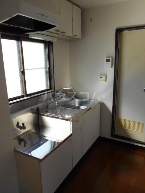 クレイドル 3号室のキッチン