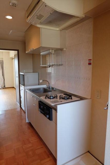 安武マンション城北 503号室のキッチン