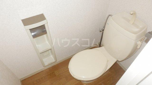 メゾン・ドラペA 202号室のトイレ