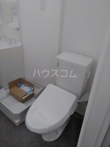 Le Ciel deux 204号室のトイレ