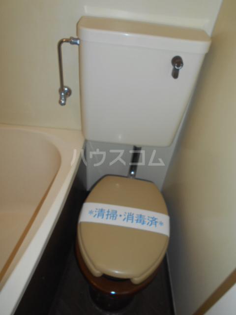 ニューオリエント境南 201号室のトイレ