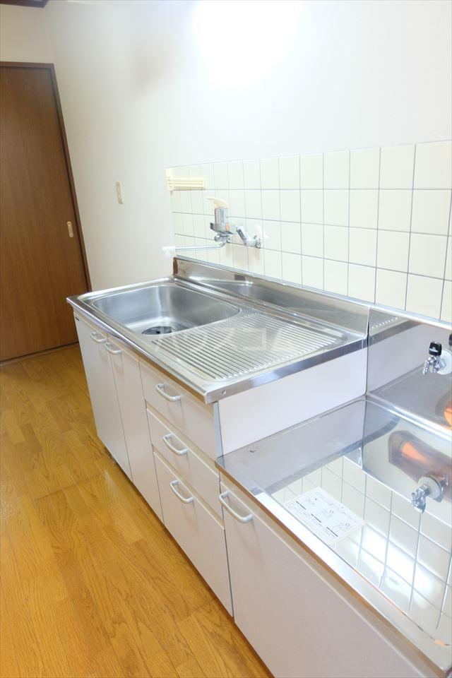 さくら館21 205号室のキッチン