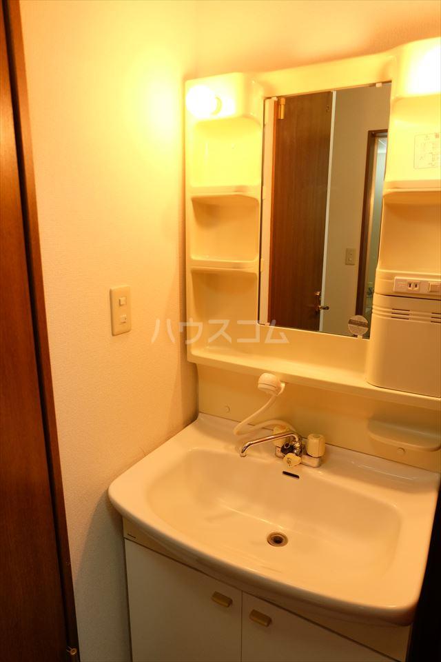 さくら館21 205号室の洗面所