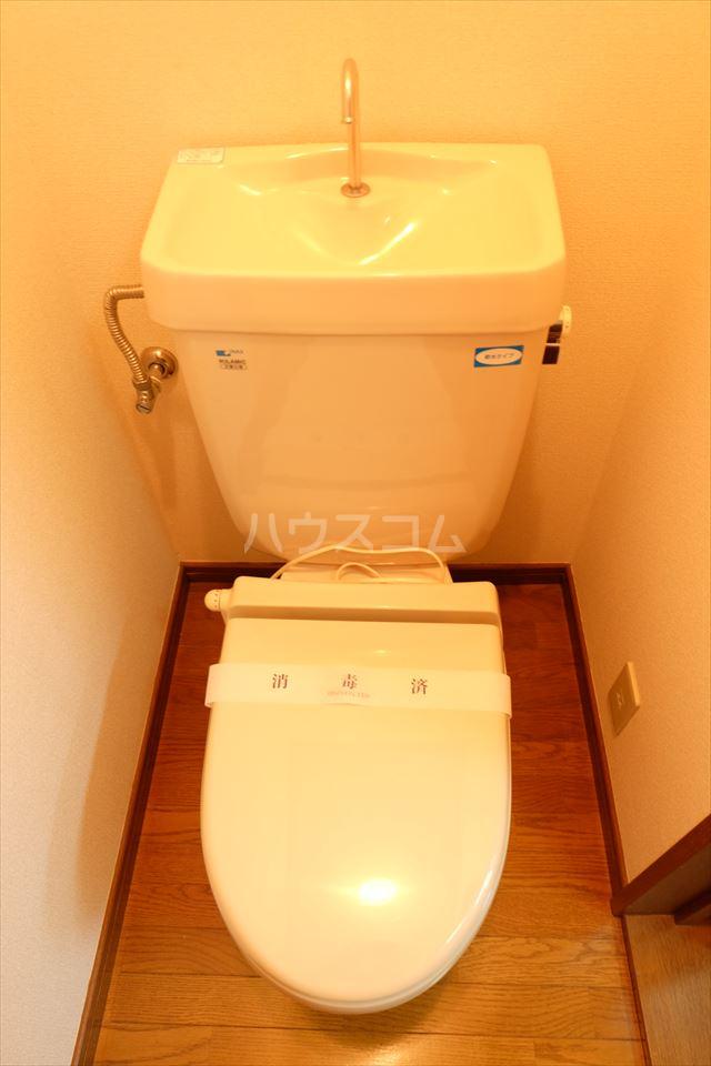 さくら館21 205号室のトイレ
