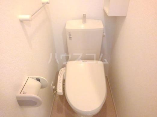 エル・ヴィータ B 02010号室のトイレ