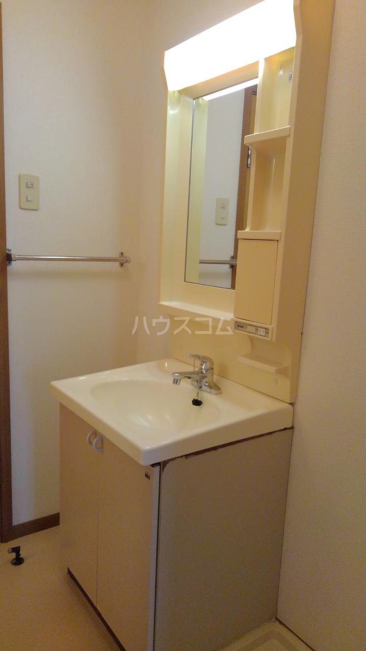 ライフサークルパート9 02010号室の洗面所