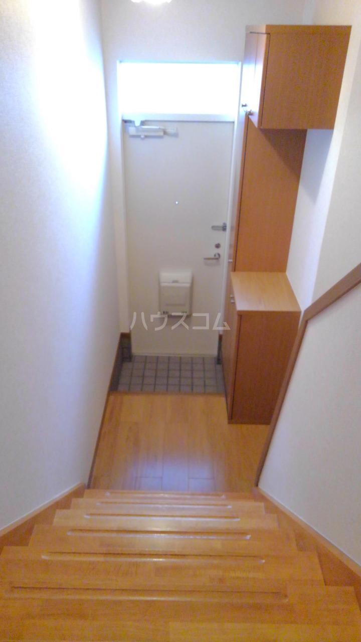 ライフサークルパート9 02010号室の玄関