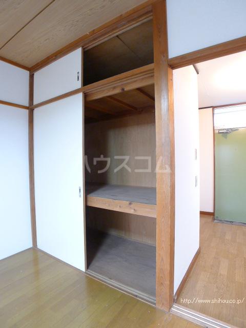 コーポ中村Ⅱ 208号室の収納