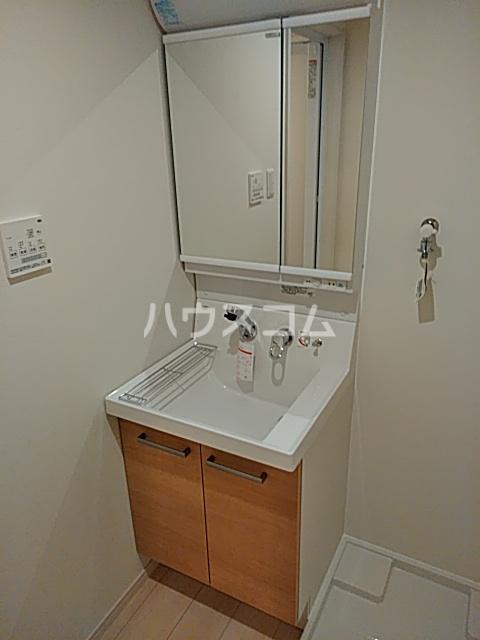 グランテージ東宿郷 202号室の洗面所
