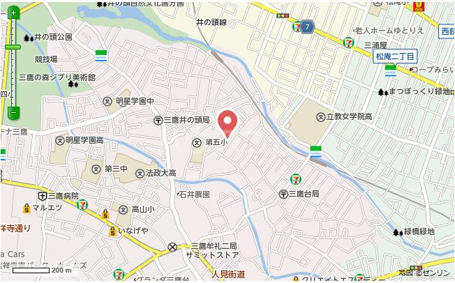 第一高永荘 202号室の地図