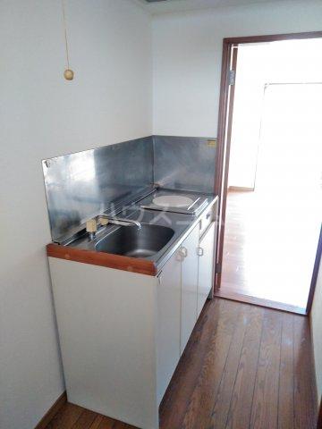 ストーンフィールド 205号室のキッチン
