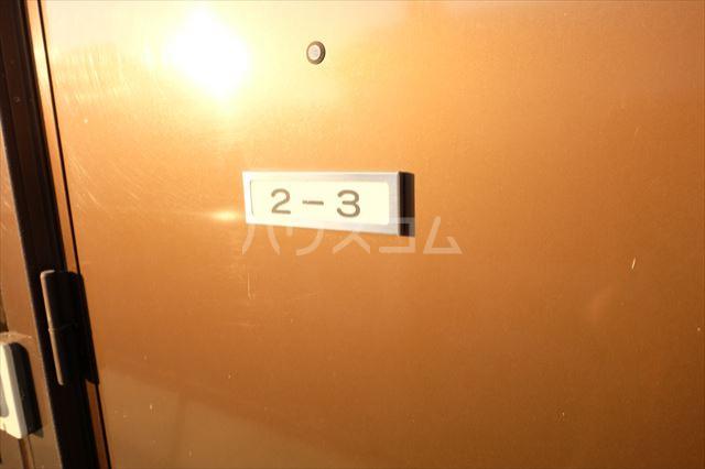 チェリーハイツ 203号室の玄関
