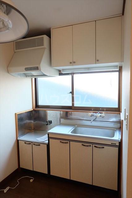 チェリーハイツ 203号室のキッチン