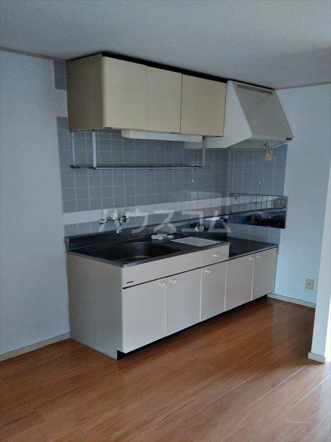 エルディム江曽島 01010号室のキッチン