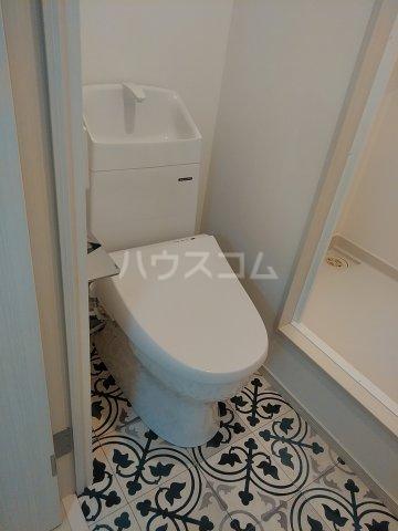 ソルナクレイシア荻窪Ⅱ 102号室のトイレ