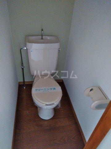 ストーンフィールド 202号室のトイレ