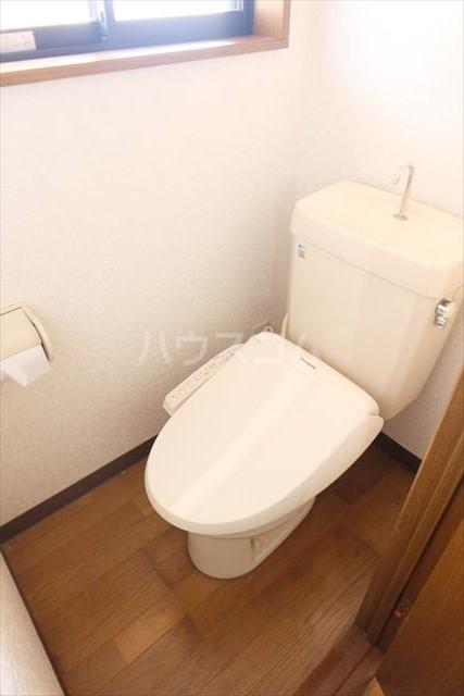 パールメゾン 201号室のトイレ
