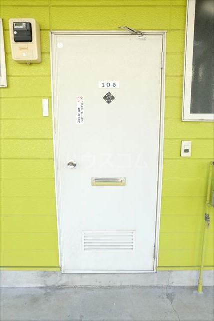 コーポ・テスコⅠ 201号室のセキュリティ