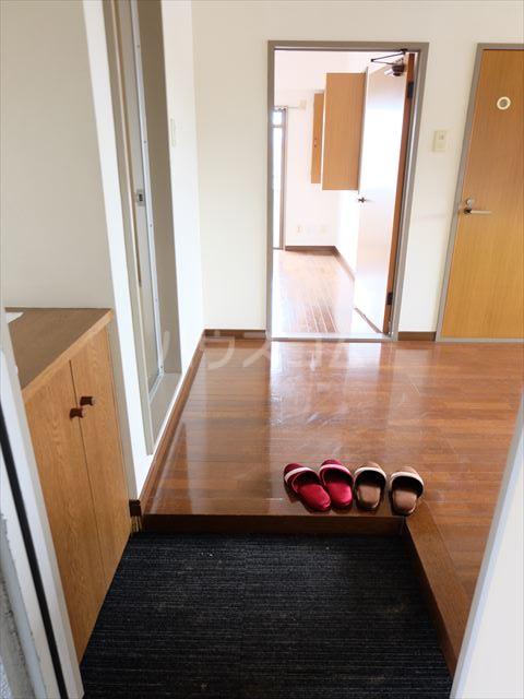 森山ハイツ 302号室の玄関