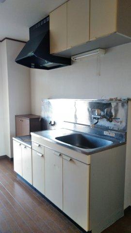 コーポクリーブランド 101号室のキッチン