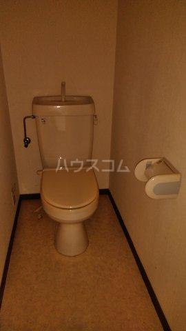 コーポクリーブランド 101号室のトイレ