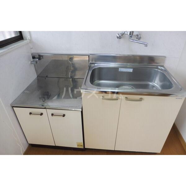 石井ハイツB 201号室のキッチン