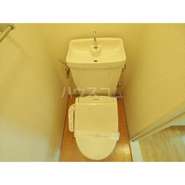セジュールキクチB 205号室のトイレ