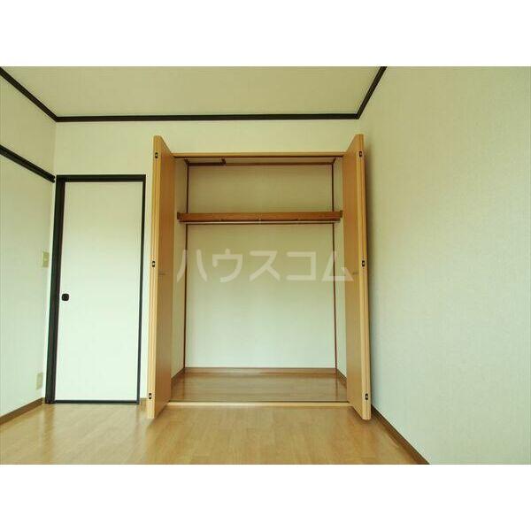 セジュールキクチB 205号室の収納