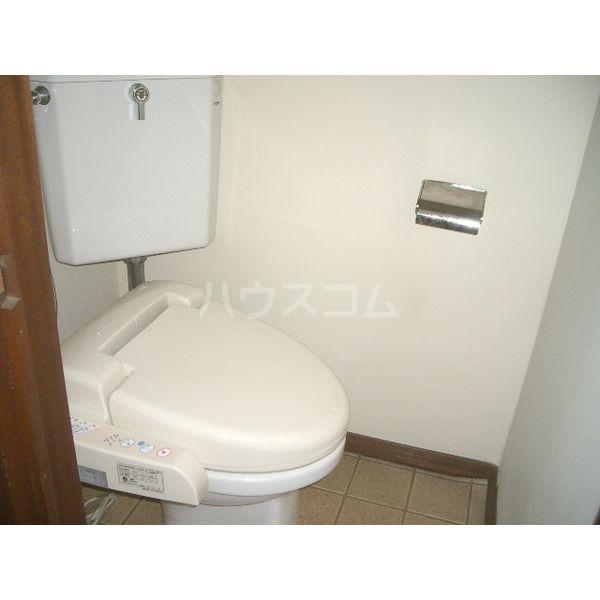 清明ハイツ 101号室のトイレ
