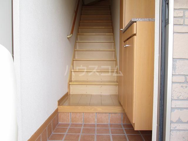 デスパシオ A 02030号室の玄関