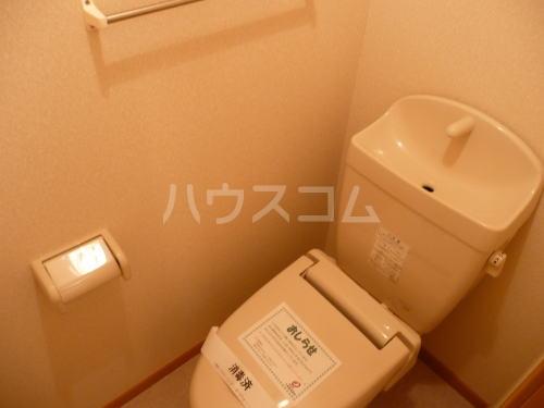 ソフィーシアB 01010号室のトイレ