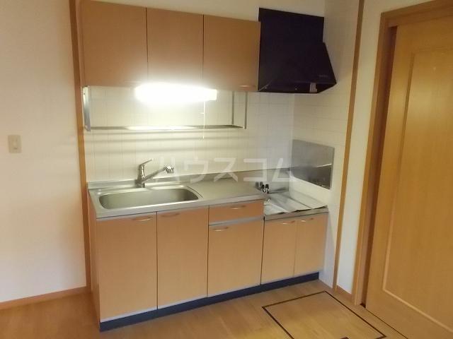 エレガンシアⅡ 01010号室のキッチン