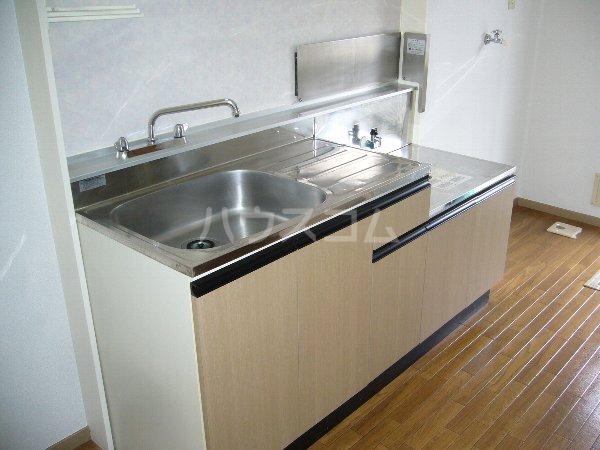 メゾン・グリシーヌ 201号室のキッチン