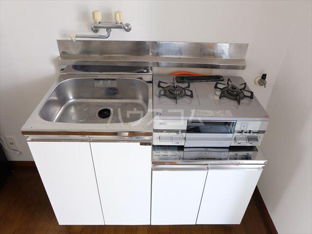メゾン・ド・タミア 202号室のキッチン