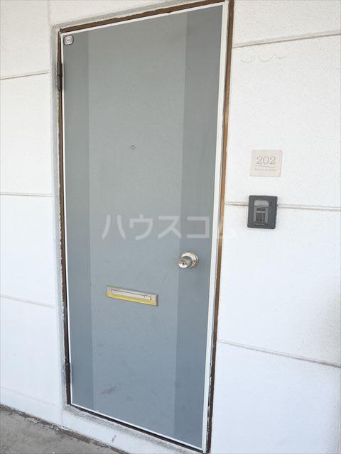 メゾン・ド・タミア 202号室の玄関