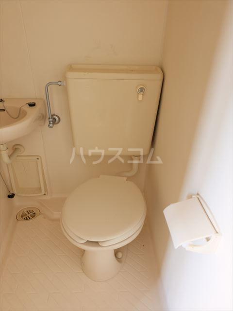 メゾン・ド・タミア 202号室のトイレ