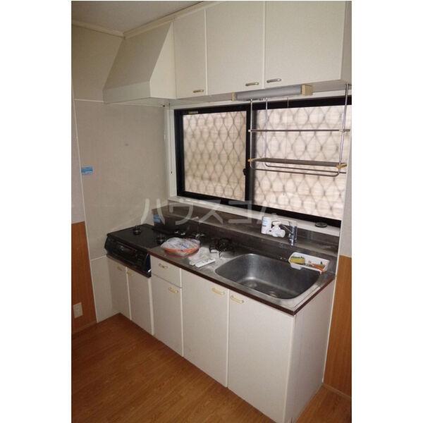 プラド光城B 102号室のキッチン