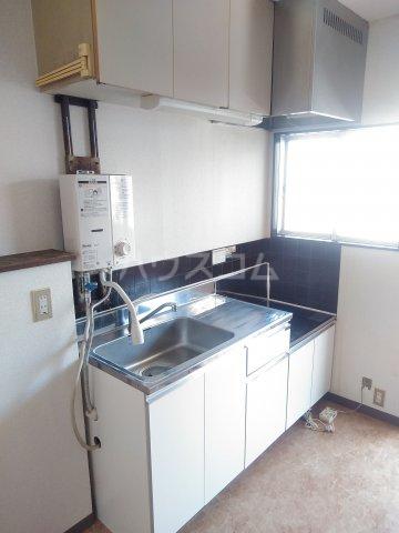 シュロス比呂美B 202号室のキッチン