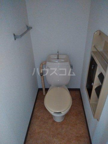 シュロス比呂美B 202号室のトイレ
