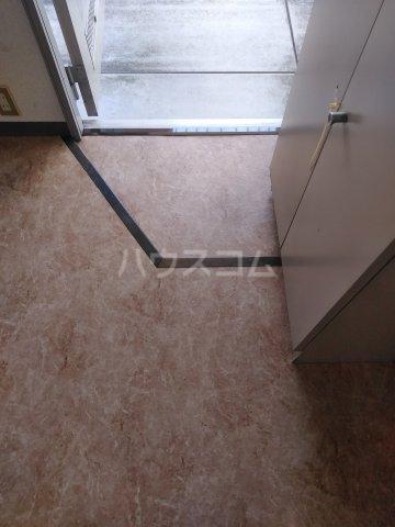 シュロス比呂美B 202号室の玄関